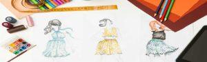 آموزش فشرده و کوتاه مدت طراحی لباس